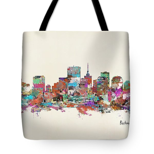 Richmond Virginia Tote Bag