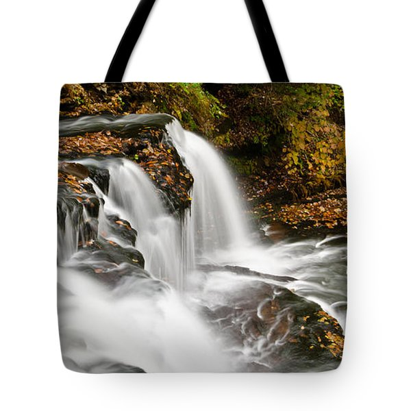 Ricketts Glen - On Top Of The Fall Tote Bag
