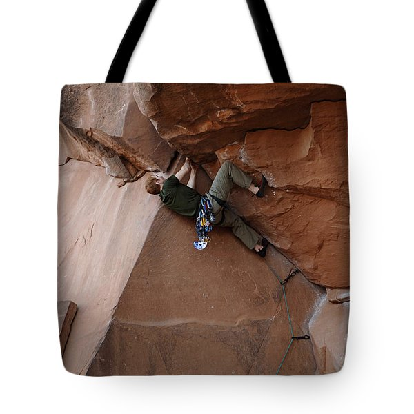 Riddle Of The Rock Tote Bag by Bob Christopher