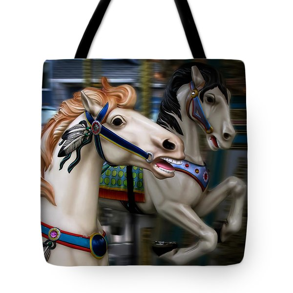 Ride A Painted Pony Tote Bag