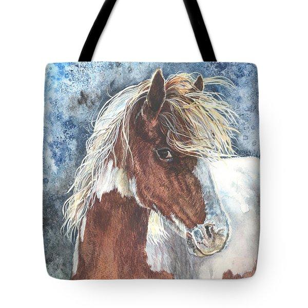 Pinto Pony Tote Bag