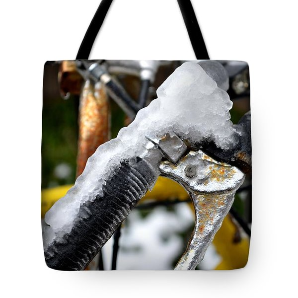 Ride On The Rocks Tote Bag