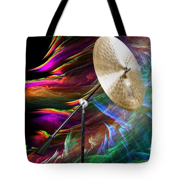 Ride Or Suspended Cymbal In Color 3241.02 Tote Bag