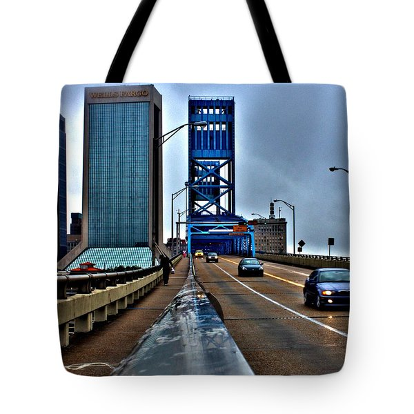 Ride The Rail Tote Bag
