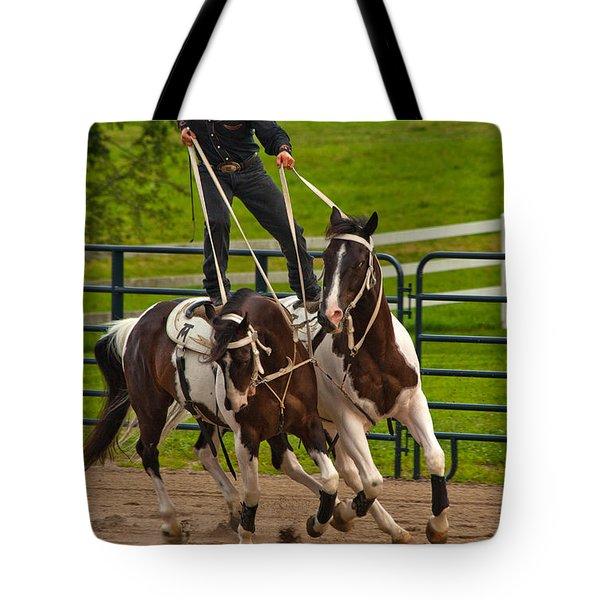 Ride Them Cowboy Tote Bag by Karol Livote