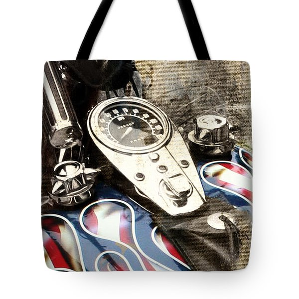 Ride With Pride Tote Bag
