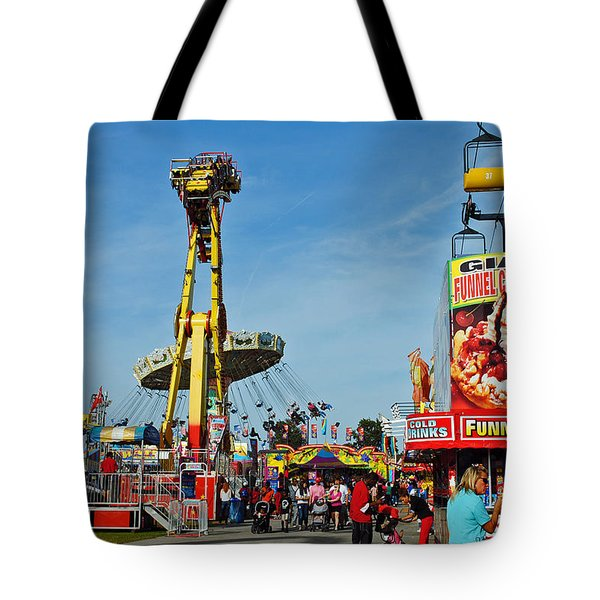 Rides Rides Rides Tote Bag by Skip Willits