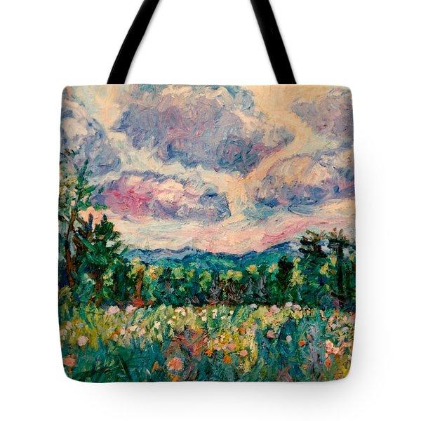 Ridge Light Tote Bag by Kendall Kessler