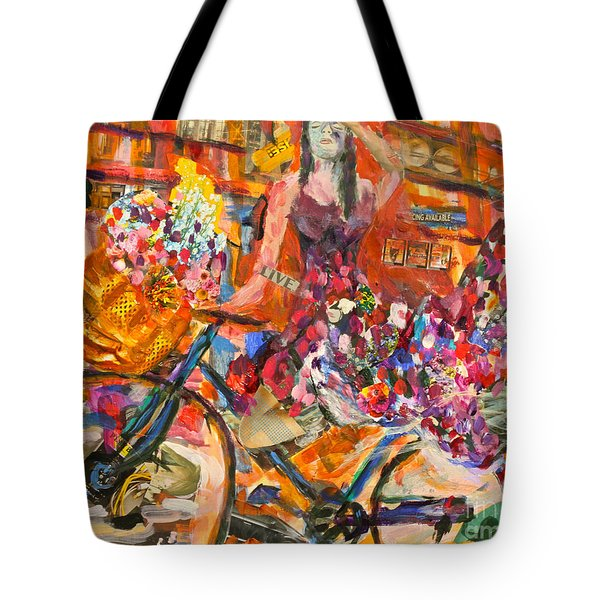 Riding Through Life Tote Bag