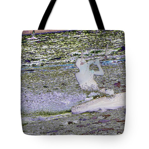 Riding With The Wind Tote Bag by Jeff Swan
