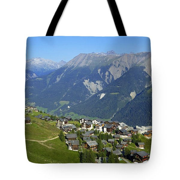 Riederalp Valais Swiss Alps Switzerland Tote Bag