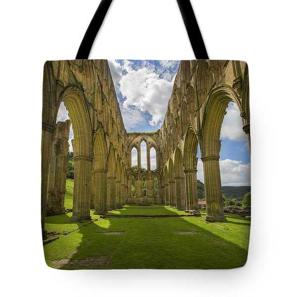 Rievaulx Abbey Tote Bag