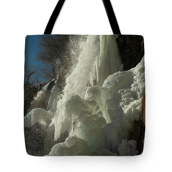 Rifle Falls Colorado Tote Bag