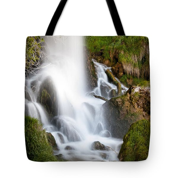 Rifle Falls Tote Bag by Steven Reed