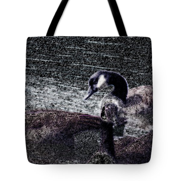 Tote Bag featuring the photograph Right Behind Ya   by Lesa Fine