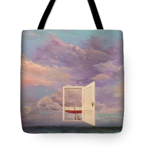 Right Where It's Always Been Tote Bag