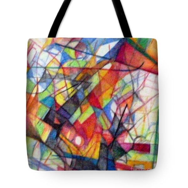 Righteous Step 4  Tote Bag by David Baruch Wolk