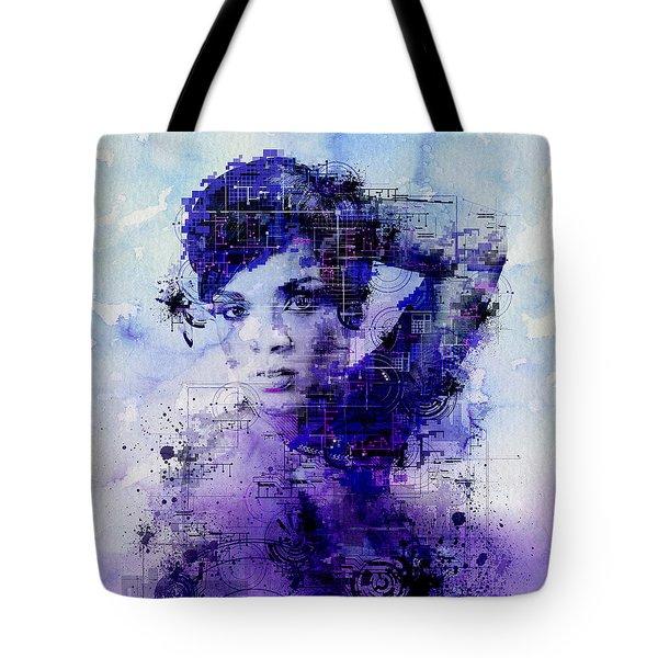 Rihanna 2 Tote Bag by Bekim Art