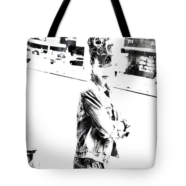 Rihanna Hanging Out Tote Bag by Brian Reaves