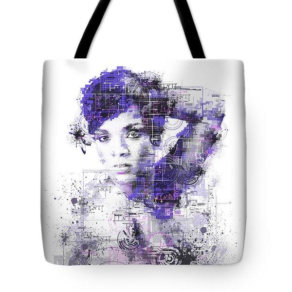 Rihanna Tote Bag by Bekim Art