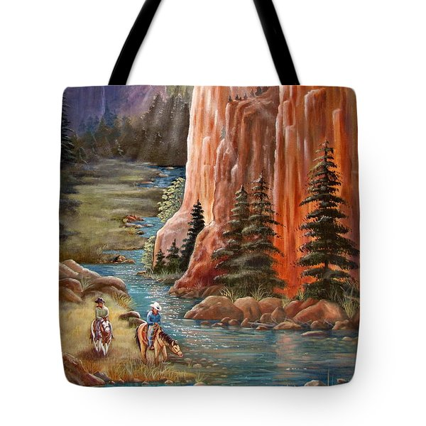 Rim Canyon Ride Tote Bag