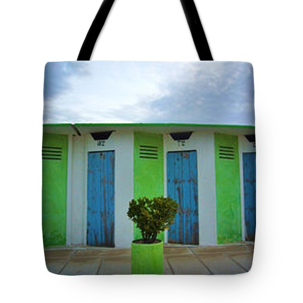 Rimini Beach Panorama Tote Bag