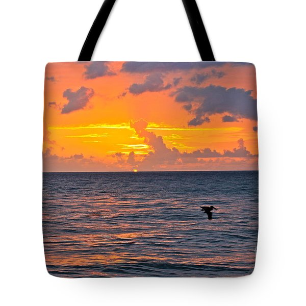Rincon Sunset Tote Bag