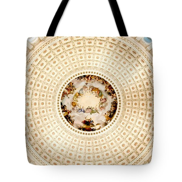 Ring Around The Capitol Tote Bag