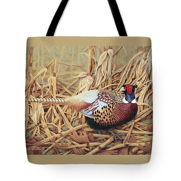 Ring-necked Pheasant Tote Bag