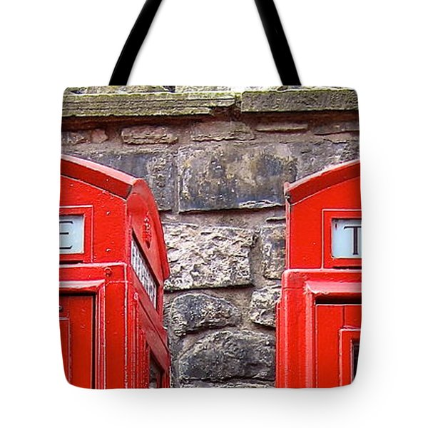 Ring Ring Tote Bag by Suzanne Oesterling