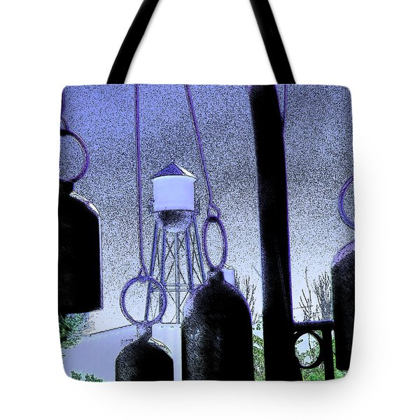 Ring Them Bells Tote Bag by Lenore Senior
