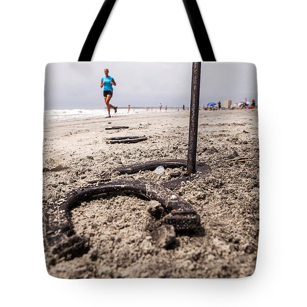 Tote Bag featuring the photograph Ringer by Sennie Pierson