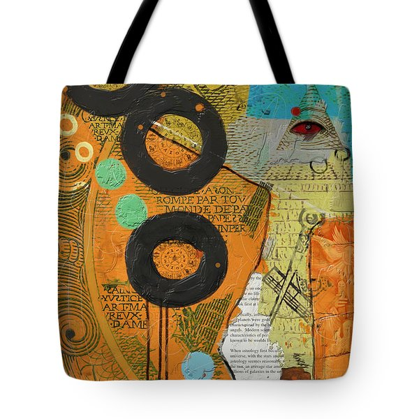 Rings Tote Bag by Corporate Art Task Force