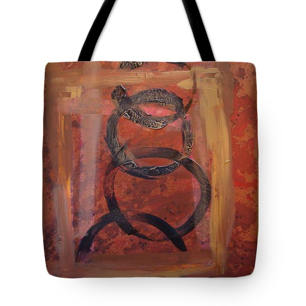 Rings - Circles Of Life Tote Bag