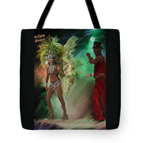 Rio Dancer II A  Tote Bag