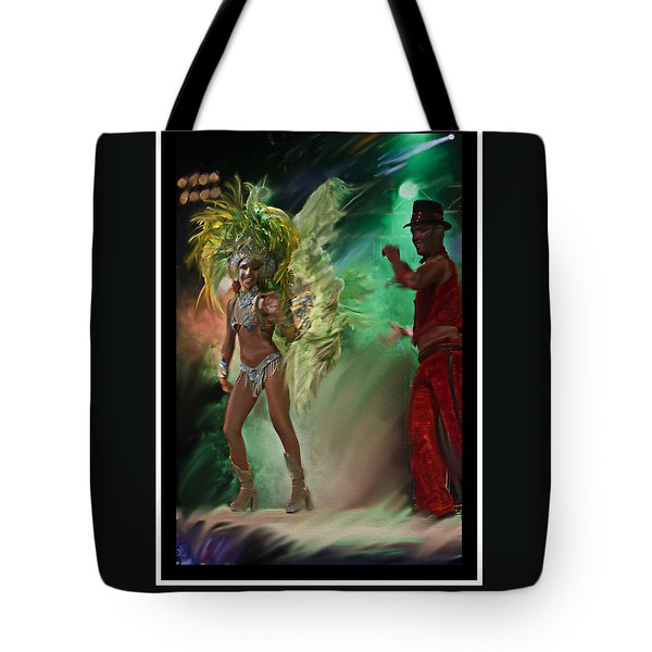 Rio Dancer II B  Tote Bag
