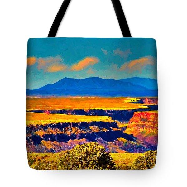 Rio Grande Gorge Lv Tote Bag