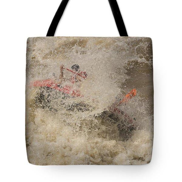 Rio Grande Rafting Tote Bag by Steven Ralser