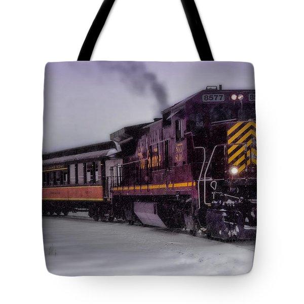 Rio Grande Scenic Railroad Tote Bag by Ellen Heaverlo