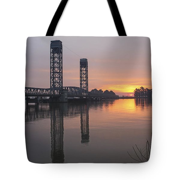 Rio Vista Bridge Tote Bag