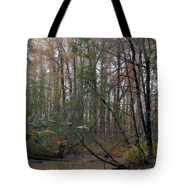 Tote Bag featuring the photograph Riparian Forest by I'ina Van Lawick