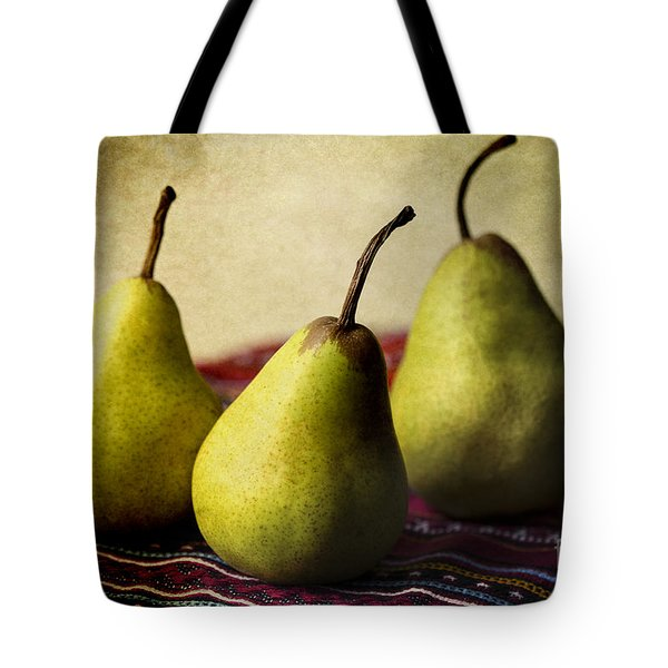 Ripe And Ready Tote Bag by Linda Lees