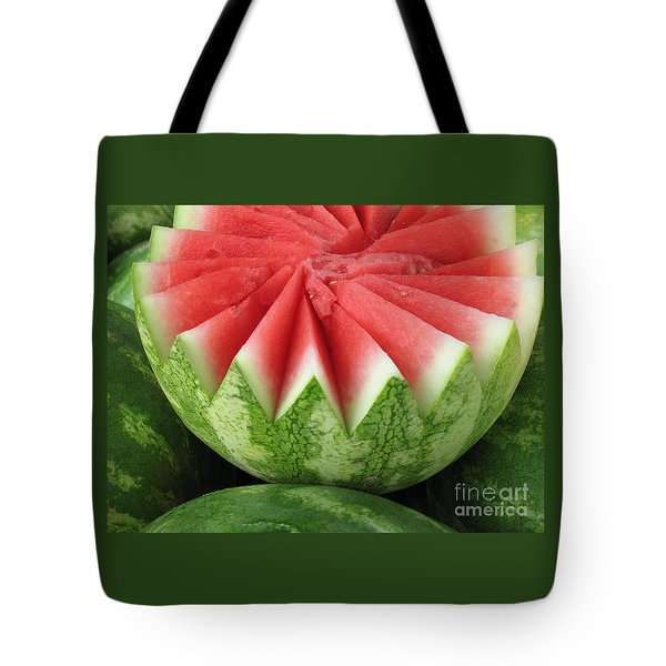 Ripe Watermelon Tote Bag by Ann Horn