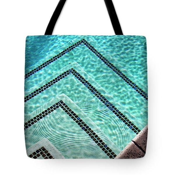 Ripple Effect Palm Springs Tote Bag