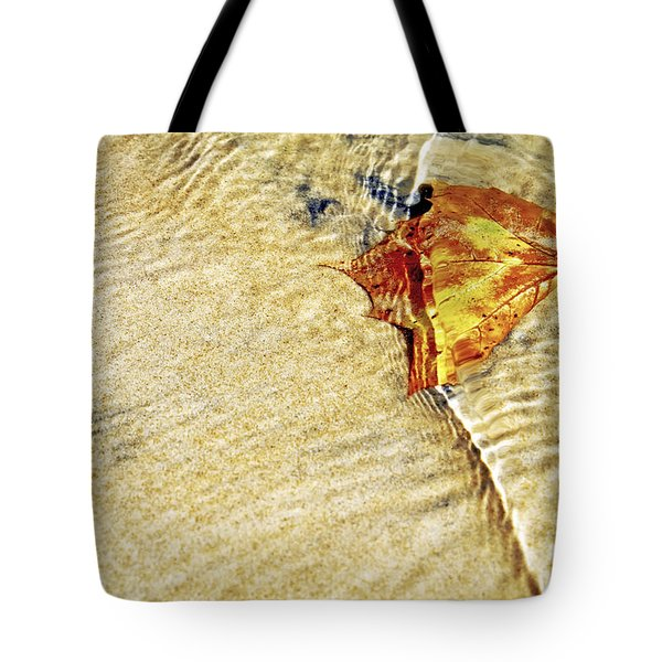 Ripple In Time Tote Bag by Jason Politte