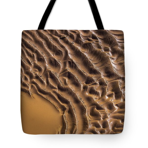 Ripples And Fins Tote Bag