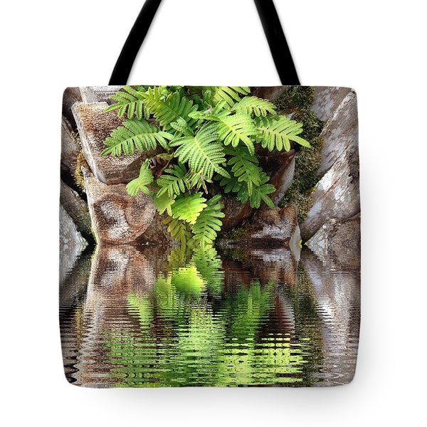 Ripples And Reflection Tote Bag