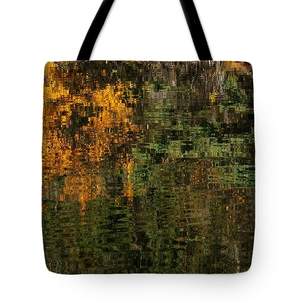 Ripples And Reflections Tote Bag