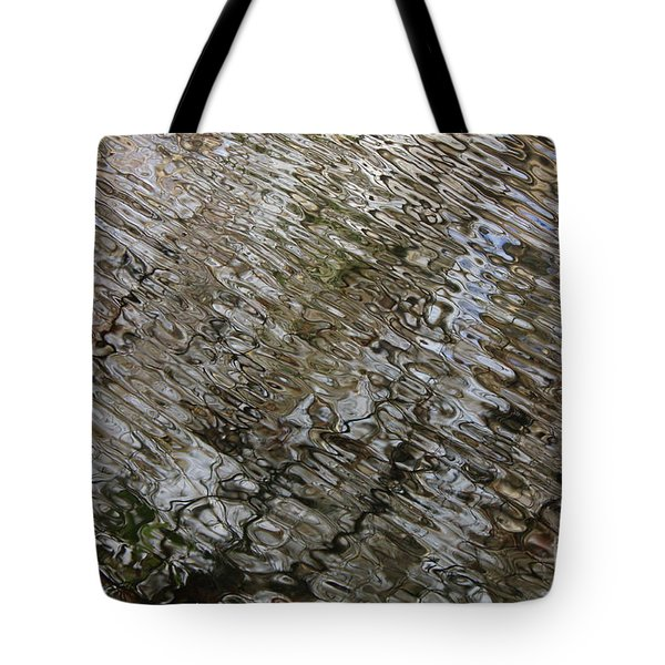 Ripples In The Swamp Tote Bag by Carol Groenen