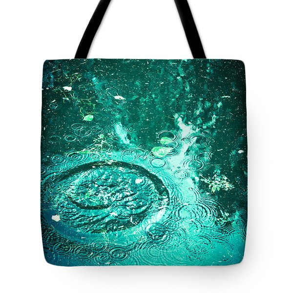 Tote Bag featuring the photograph Ripples by Jan Bickerton